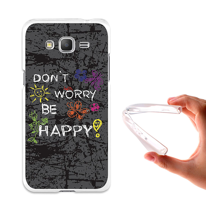 Capa de Gel BeCool® Samsung Galaxy Grand Prime | Dont Worry, Be Happy!