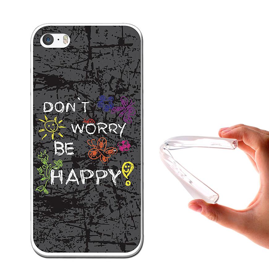 Capa de Gel BeCool® iPhone 6 & iPhone 6S | Dont Worry, Be Happy!