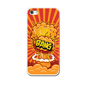 Capa de Gel BeCool® iPhone SE iPhone 5 5S | Bang
