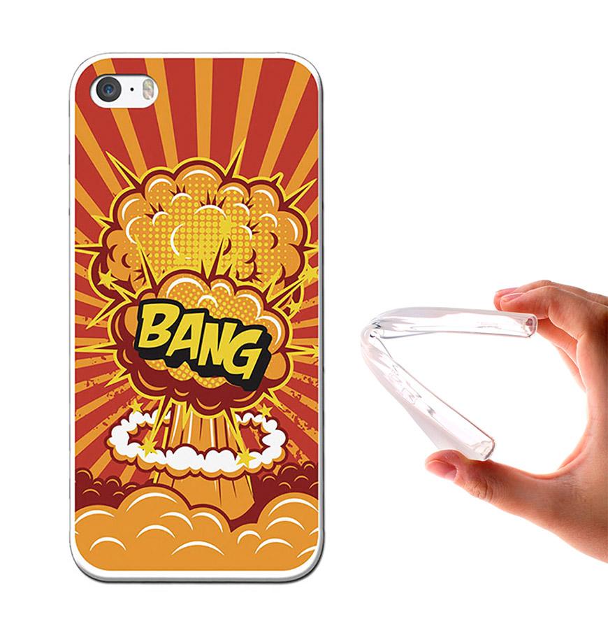 Capa de Gel BeCool® iPhone SE iPhone 5 5S | Bang
