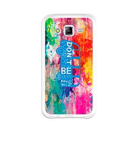 Capa de Gel BeCool® Samsung Galaxy J5   Felicidade