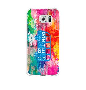 Capa de Gel BeCool® Samsung Galaxy S6   Felicidade
