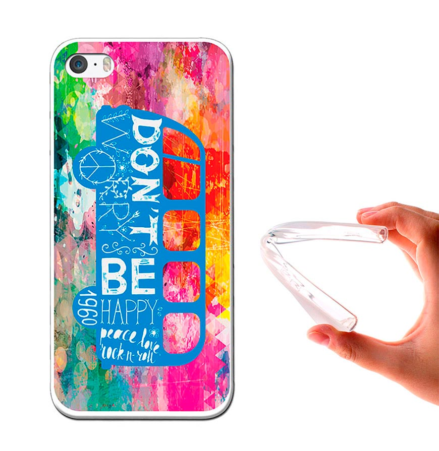 Capa de Gel BeCool® iPhone SE iPhone 5 5S | Felicidade