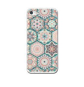 Capa de Gel BeCool® iPhone SE iPhone 5 5S | Mosaico