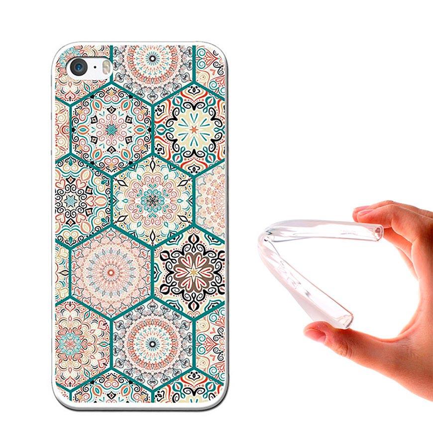 Capa de Gel BeCool® iPhone SE iPhone 5 5S   Mosaico