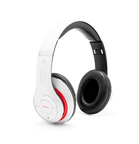 Auscultador Bluetooth Pitaly III | Branco