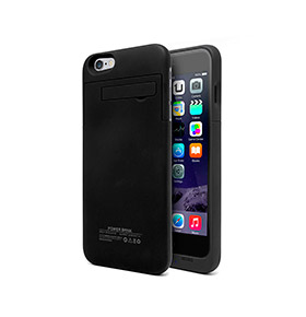 Capa Com Bateria Iphone 6 Plus | Preto