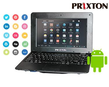 Netbook Smart 1001 Prixton® 10' | Prático & Leve