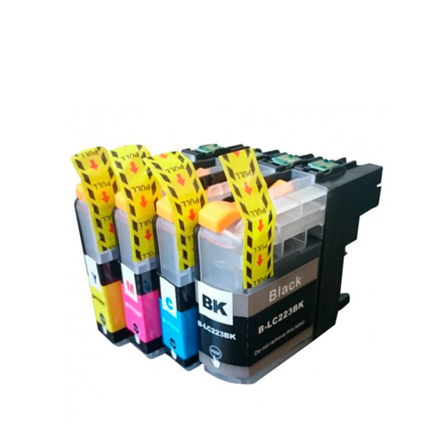 Pack 4 Tinteiros   Compatíveis com Brother  LC227XL