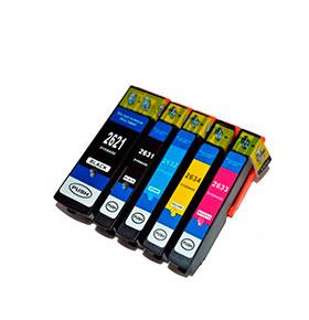 Pack 4 Tinteiros | Compatíveis com Epson T04454020