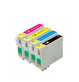 Pack de 2 Tinteiros | Compatíveis com Epson T050+T052