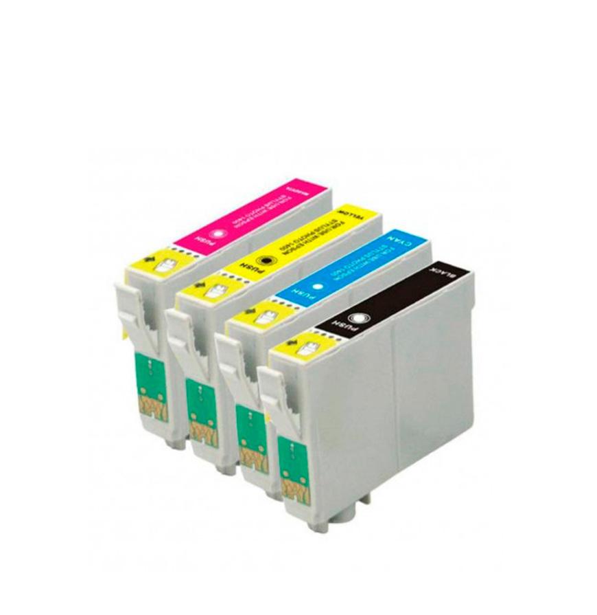 Pack 2 Tinteiros | Compatíveis com Epson T050+T052