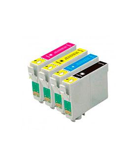 Pack de 4 Tinteiros | Compatíveis com Epson T05564020