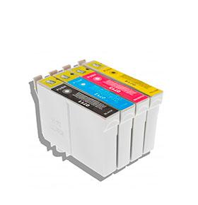 Pack de 4 Tinteiros | Compatíveis com Epson T07154020/895