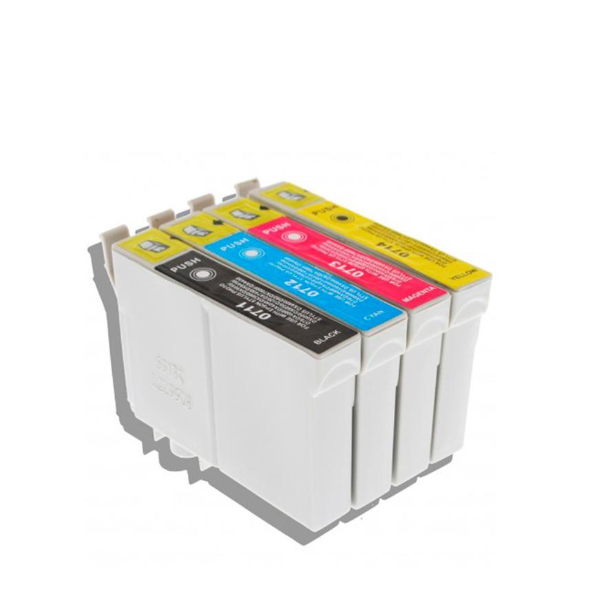 Pack 4 Tinteiros   Compatíveis com Epson T07154020/895
