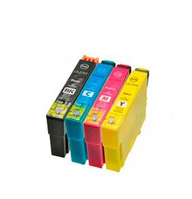 Pack de 4 Tinteiros | Compatíveis com Epson T12854010