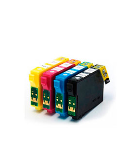 Pack 4 Tinteiros | Compatíveis com Epson T12954010