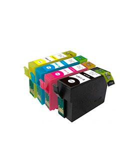 Pack de 4 Tinteiros | Compatíveis com Epson T13064010