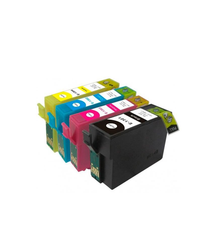 Pack 4 Tinteiros   Compatíveis com Epson T13064010
