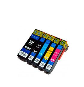 Pack de 5 Tinteiros | Compatíveis com Epson T26364010