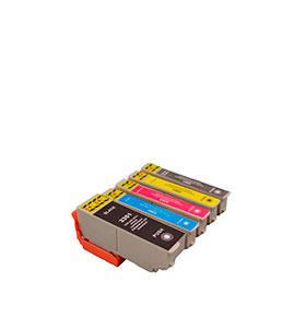 Pack de 5 Tinteiros | Compatíveis com Epson T33574010