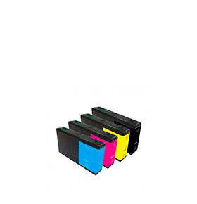 Pack de 4 Tinteiros | Compatíveis com Epson T70154010