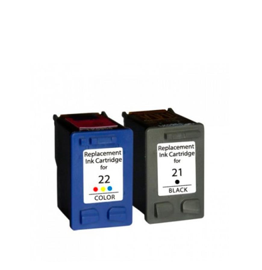 Pack 2 Tinteiros | Compatíveis com HP Nº21G
