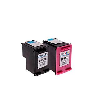 Pack de 2 Tinteiros | Compatíveis com HP Nº301XL BK+Cor