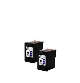 Pack de 2 Tinteiros | Compatíveis com HP Nº56A