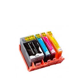 Pack de 4 Tinteiros | Compatíveis com HP Nº934X+935XL