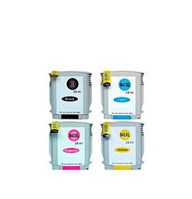Pack 4 Tinteiros | HP Nº940XL