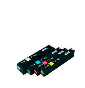 Pack de 4 Tinteiros | Compatíveis com HP Nº970XL+971XL