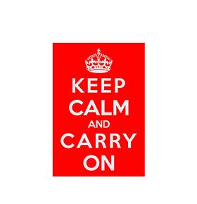 Keep Calm and Love | 20 x 30cm