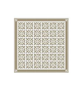 Tapete de Vinil Floorart® Ramblas Topo | Sala