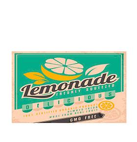 Tapete de Vinil Floorart® Lemonade