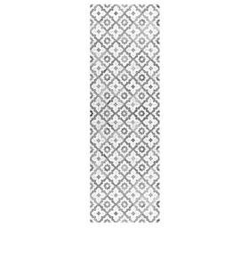 Tapete de Vinil Floorart® Patchwork Vintage Cinza