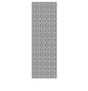 Tapete de Vinil Floorart® Corredor Cinza