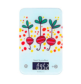 Balança de Cozinha LCD Rabanetes