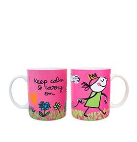 Caneca Keep Calm & Carry On
