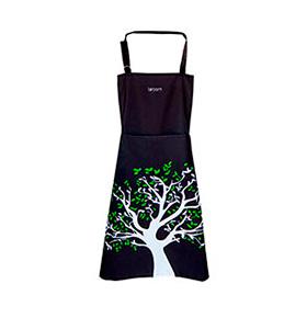 Avental de Cozinha Árvore com Bolso Duplo