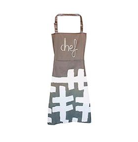 Avental de Cozinha Chef com Bolso Duplo