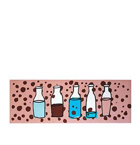 Tapete Rectângular de Vinil Milk