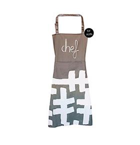 Avental de Cozinha para Crianças com Bolso Duplo | Chef