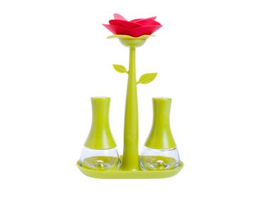 Conjunto Saleiro e Pimenteiro Vigar® Rose | Verde