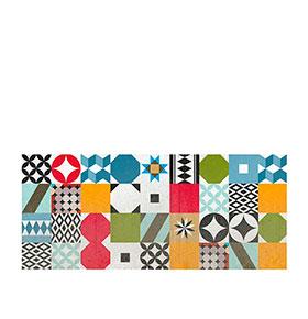 Tapete de Vinil | Telhas de Mosaicos