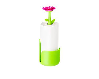 Suporte para Rolo de Cozinha Vigar® Flower Power