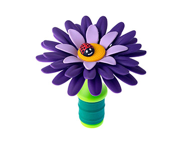 Tampa para Garrafa Vigar® Flower Power | Escolha a Cor