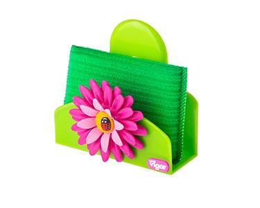 Base para Esponja Vigar® Flower Power