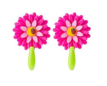2 Cabides Vigar® Flower Power | Escolha a Cor