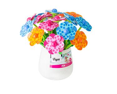 Bouquet de 18 Canetas Vigar® Lola Flor